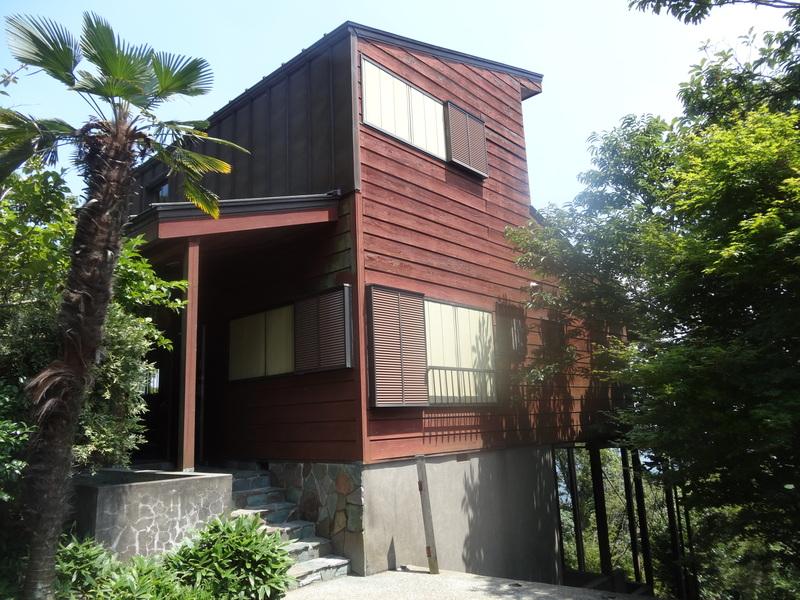 鹿野山の別荘で、炭火焼きのバーベキューパーディーです。_c0225997_9195587.jpg