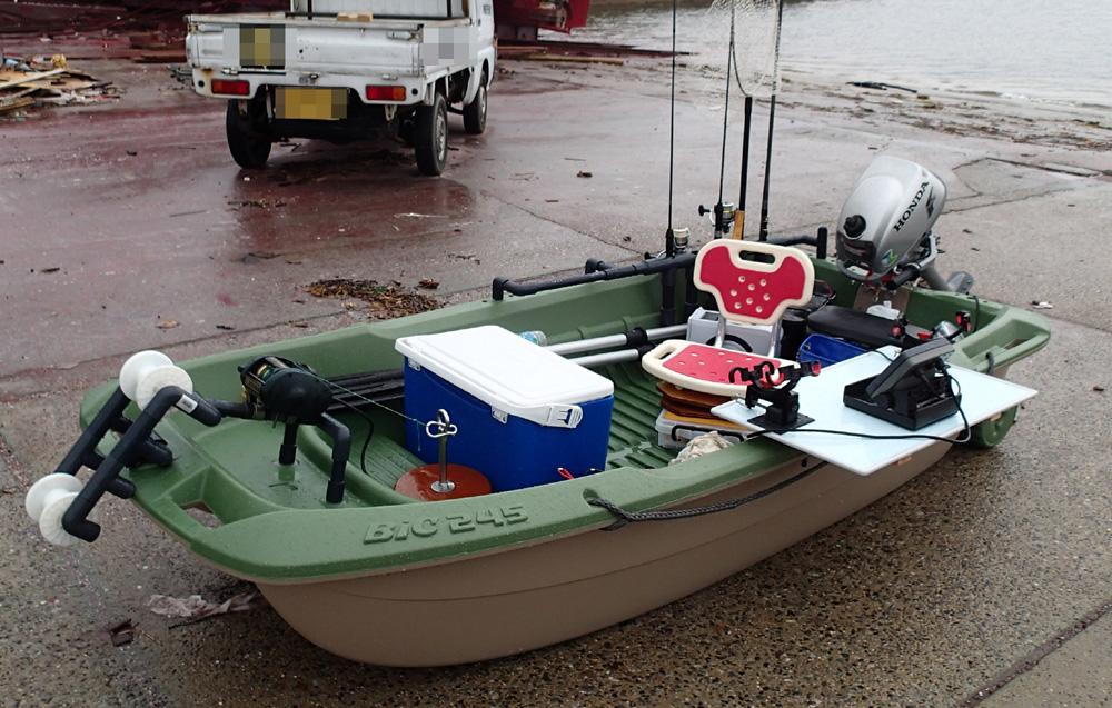 Bic245 2馬力ボート釣り 2014年8月14日(木)_d0171823_21135879.jpg