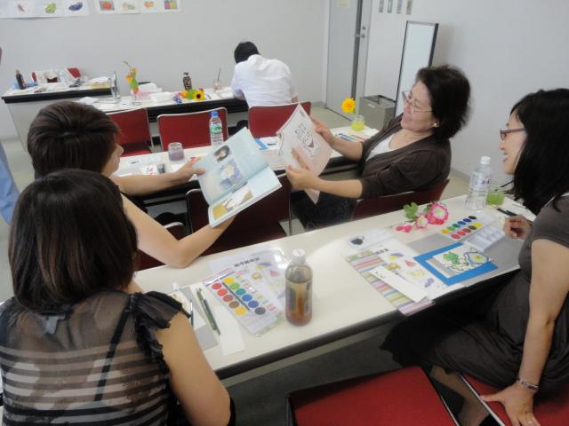 2014年8月2日自己啓発講座「絵手紙教室」報告_c0145654_22594215.jpg