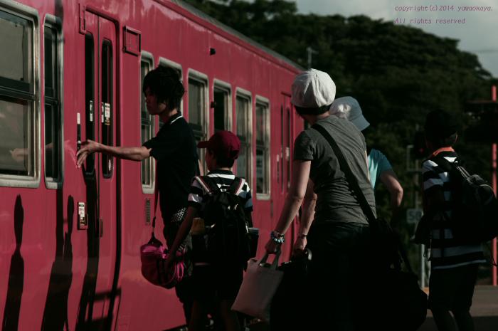 駅から旅立つ_d0309612_049748.jpg