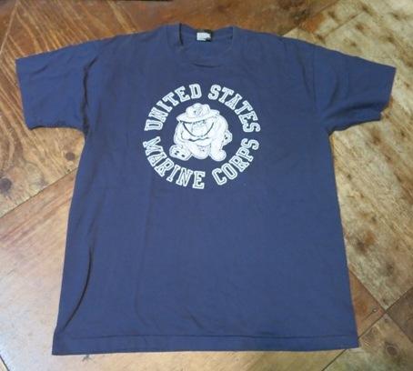 8月16日(土)入荷!80'S~U.S マリンコープ両面Tシャツ!_c0144020_13445844.jpg