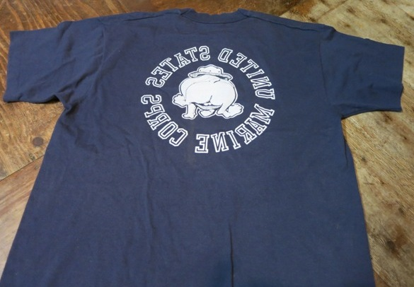 8月16日(土)入荷!80'S~U.S マリンコープ両面Tシャツ!_c0144020_1345061.jpg