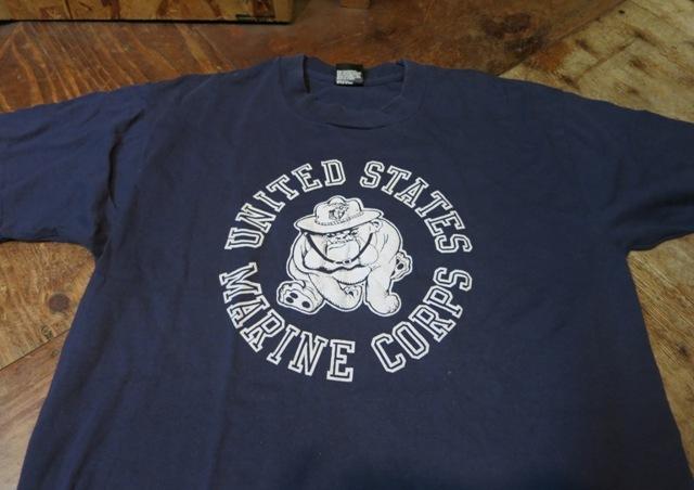 8月16日(土)入荷!80'S~U.S マリンコープ両面Tシャツ!_c0144020_1345226.jpg