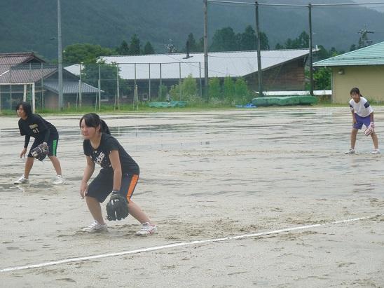 雨だけど、ソフトやりたい!H26年8月15日(金)_d0010630_20221596.jpg
