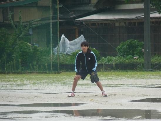雨だけど、ソフトやりたい!H26年8月15日(金)_d0010630_2022416.jpg