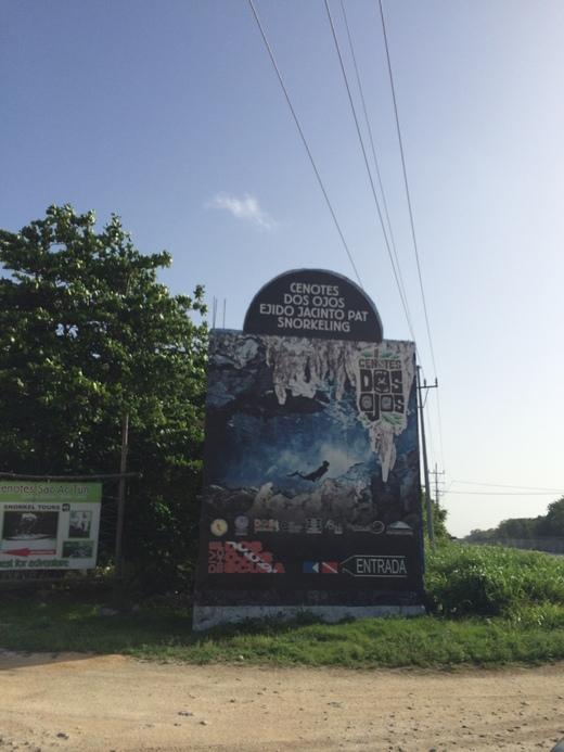 Cenotes Dos Ojos ひとりセノーテ ドスオホス_b0129832_1214724.jpg