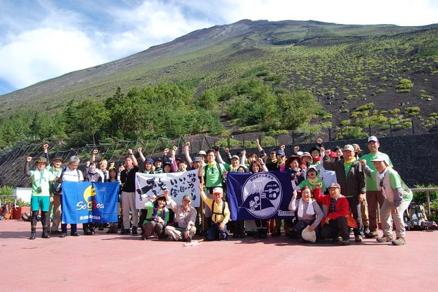 「一歩一歩の会」富士登山 partⅠ_a0079474_8304426.jpg