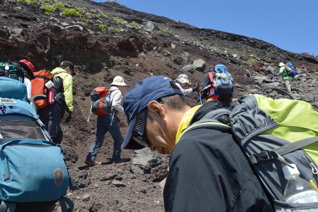 「一歩一歩の会」富士登山 partⅠ_a0079474_9103392.jpg