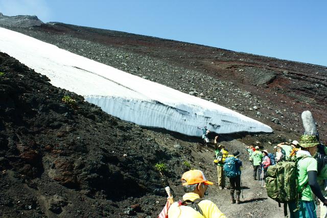 「一歩一歩の会」富士登山 partⅠ_a0079474_964070.jpg