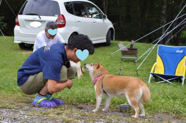 戸隠キャンプ2014④ コタさんがキター!_a0126590_00193761.jpg