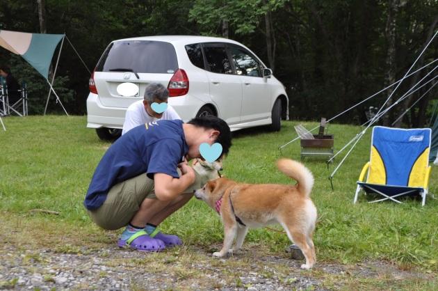 戸隠キャンプ2014④ コタさんがキター!_a0126590_00194972.jpg