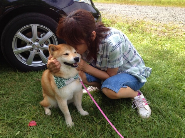 戸隠キャンプ2014④ コタさんがキター!_a0126590_10432011.jpg