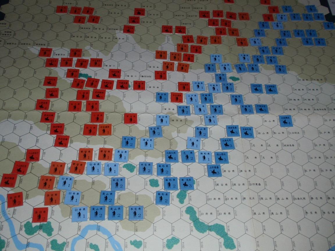 ツクダ「甲斐の虎」より「三増峠の合戦」をソロプレイ②_b0162202_185275.jpg