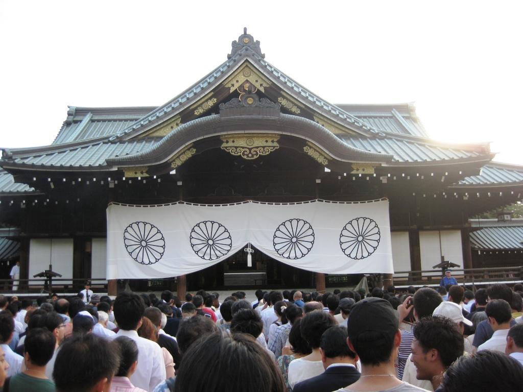靖国神社へ参拝_b0094826_23232539.jpg
