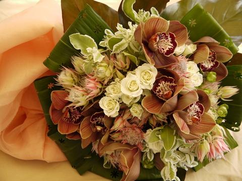 秋色の花束 *_e0086864_22422432.jpg