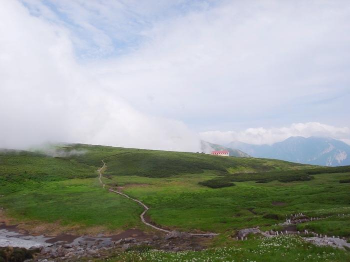 2014.8.13-14 北アルプス TJARを途中まで歩いて追いかけてみる旅 day1_b0219778_14341458.jpg