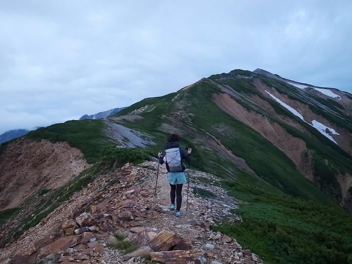 2014.8.13-14 北アルプス TJARを途中まで歩いて追いかけてみる旅 day2_b0219778_16155295.jpg
