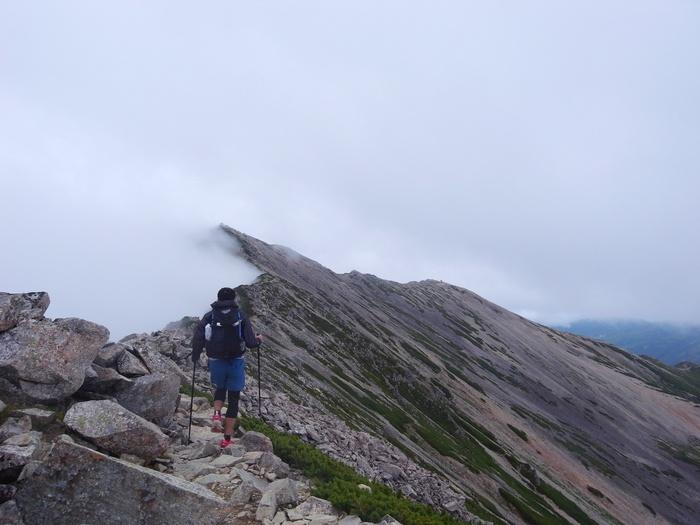 2014.8.13-14 北アルプス TJARを途中まで歩いて追いかけてみる旅 day2_b0219778_16274143.jpg