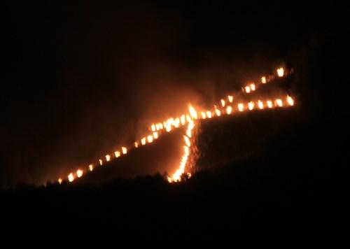 京都のお盆は、五山の送り火で締めくくり_b0067283_23432472.jpg