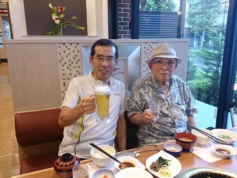 91歳の父の誕生日を祝いました_e0294183_10444374.jpg