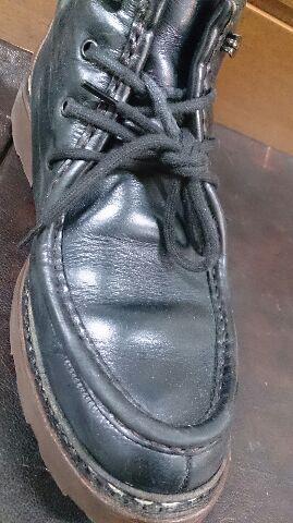ブーツの筒のスレが気になる!_b0226322_11431977.jpg
