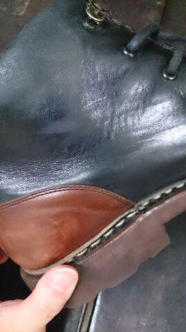 ブーツの筒のスレが気になる!_b0226322_11434498.jpg