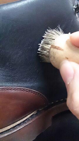ブーツの筒のスレが気になる!_b0226322_11570284.jpg