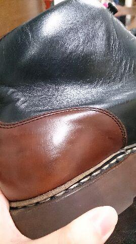 ブーツの筒のスレが気になる!_b0226322_11583621.jpg