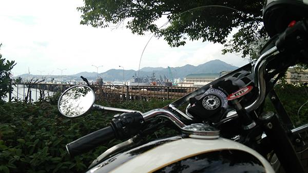 ボンネビルで岡山発〜江田島へ_e0173183_2033341.jpg