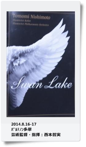 Swan Lake   ~西村智実・指揮~_b0207284_8265947.jpg