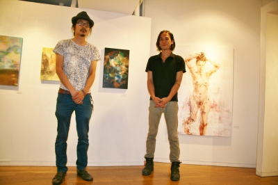 若手作家が結集、グループ展「3」始まる_d0178431_13360695.jpg