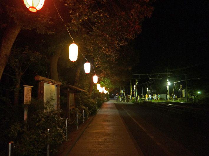 蒸し暑さの中に秋を感じた円覚寺・盆踊り大会:8・17_c0014967_9425829.jpg