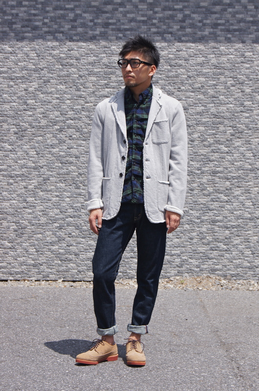 NAISSANCE - GATHERED PLAID SHIRT!!_f0020773_1941156.jpg