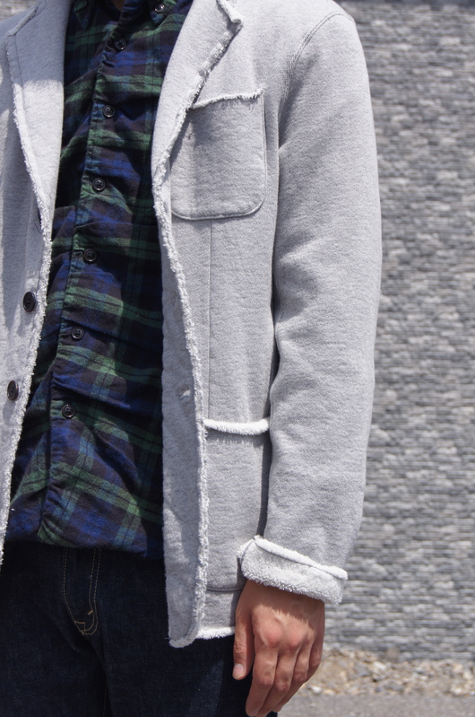 NAISSANCE - GATHERED PLAID SHIRT!!_f0020773_19412351.jpg