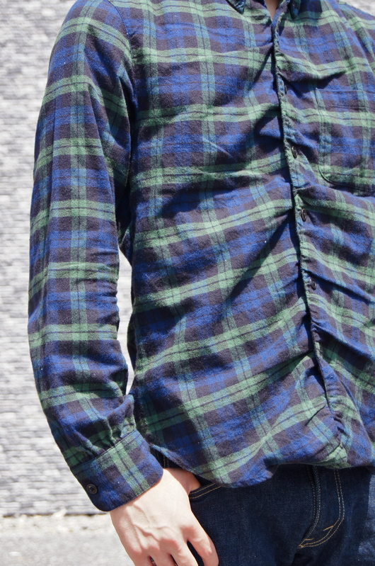 NAISSANCE - GATHERED PLAID SHIRT!!_f0020773_1943181.jpg
