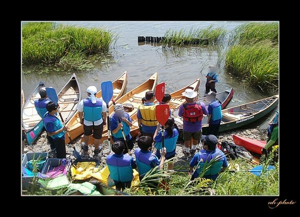 茨戸川でのカヌーとカヤック遊び_b0181889_8372091.jpg