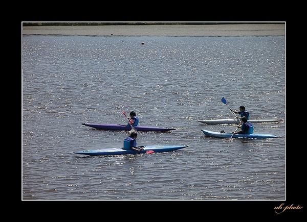 茨戸川でのカヌーとカヤック遊び_b0181889_8375013.jpg