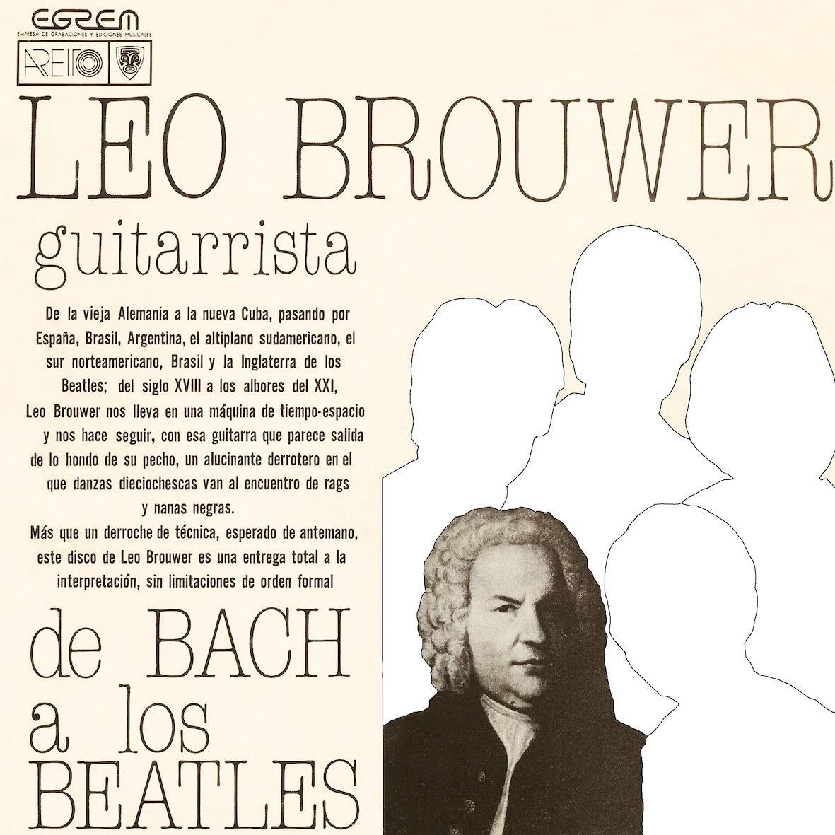 《現代、ギター音楽の巨匠》レオ・ブローウェル、ギタリストとして活躍していた時期の傑作2枚が、デジタル・リマスターで同時復刻!_e0193905_18383002.jpg