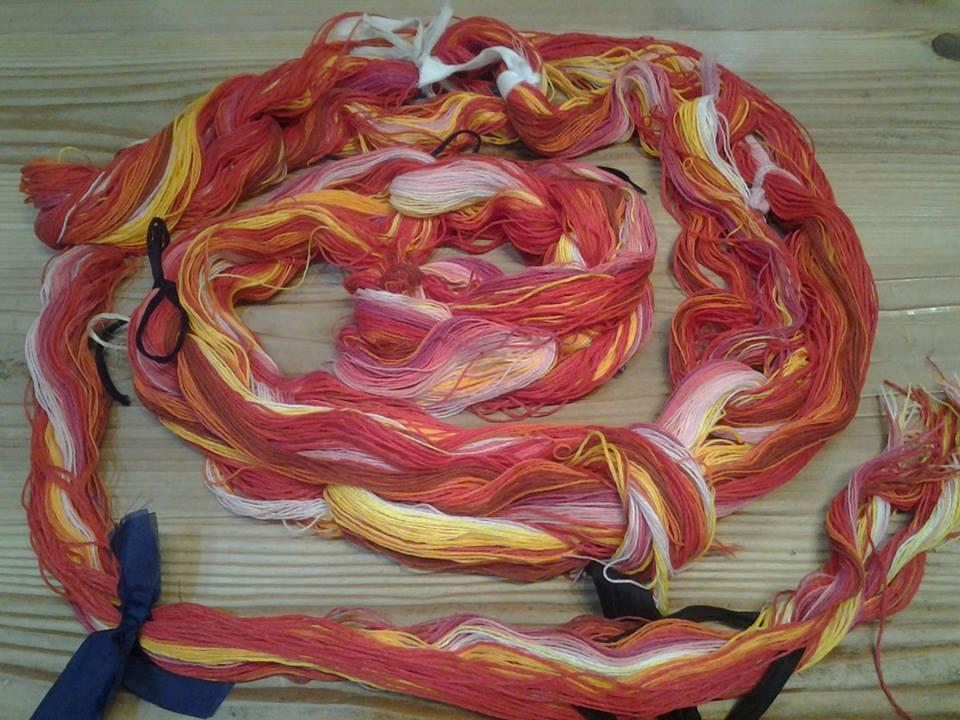 New糸も続々入荷中! 夏休み体験まだまだ続きますー_d0295916_19350798.jpg