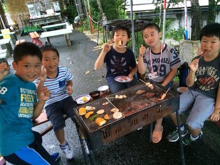 サマーキャンプ2日目!_f0101226_0543737.jpg