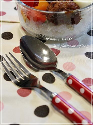 ロコモコ丼弁当♪_f0348032_19201304.jpg