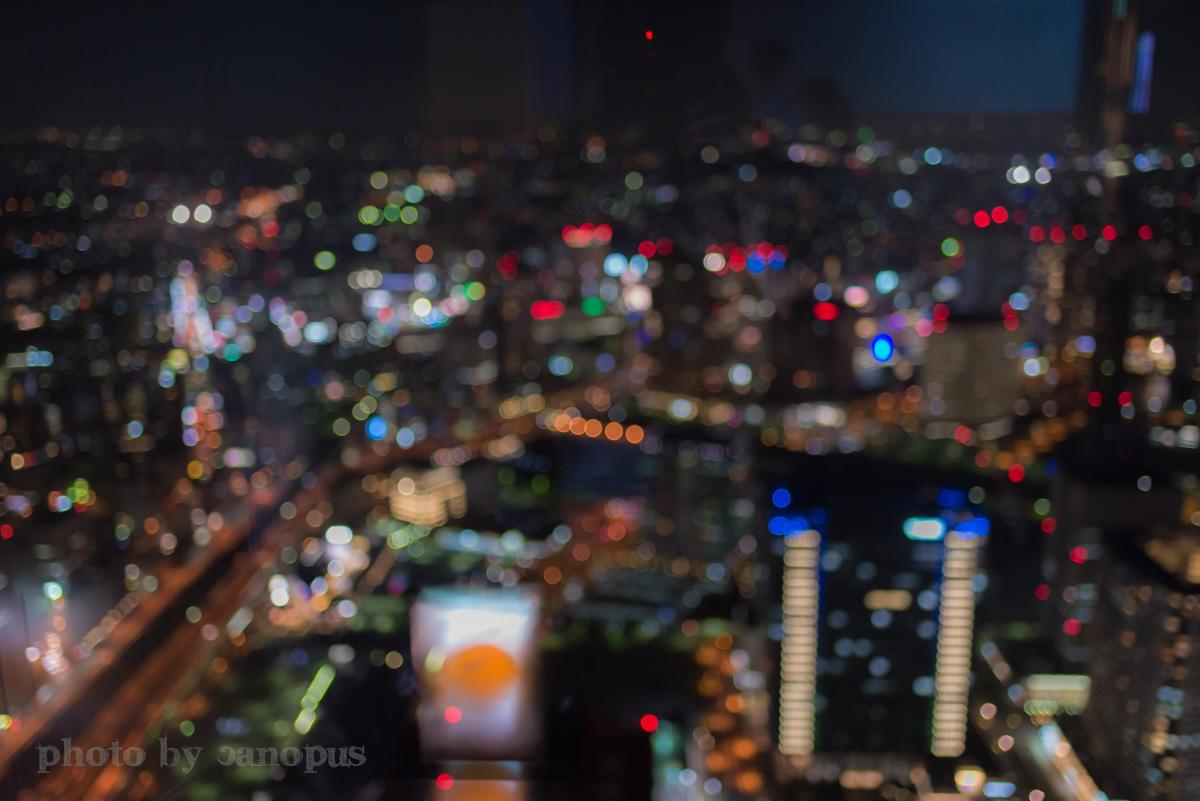 霞ゆく高層ビルからの夜景_e0196140_0363761.jpg