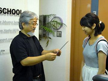 シーザレディ・・・ DTPの勉強に上海からやってきた〜★_b0045453_16403762.jpg