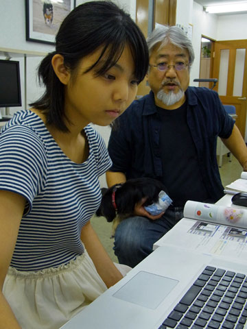 シーザレディ・・・ DTPの勉強に上海からやってきた〜★_b0045453_16404357.jpg