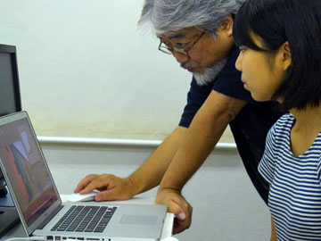 シーザレディ・・・ DTPの勉強に上海からやってきた〜★_b0045453_16404447.jpg
