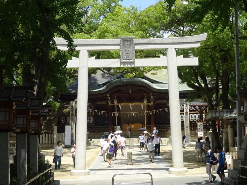 炎天下をドライブ to 石切神社_c0108460_18080078.jpg