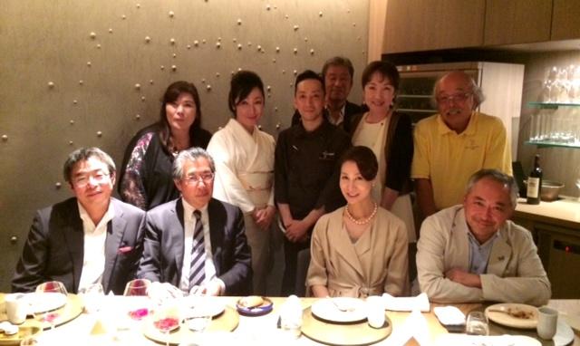 10周年ディナー「銀座・六雁」×「Liberte a table de TAKEDA」の饗宴_a0138976_21504973.jpg