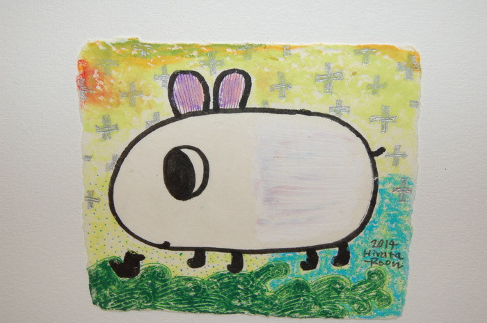 ひらたるん絵画展「まちなかの旗」_b0087994_2317067.jpg