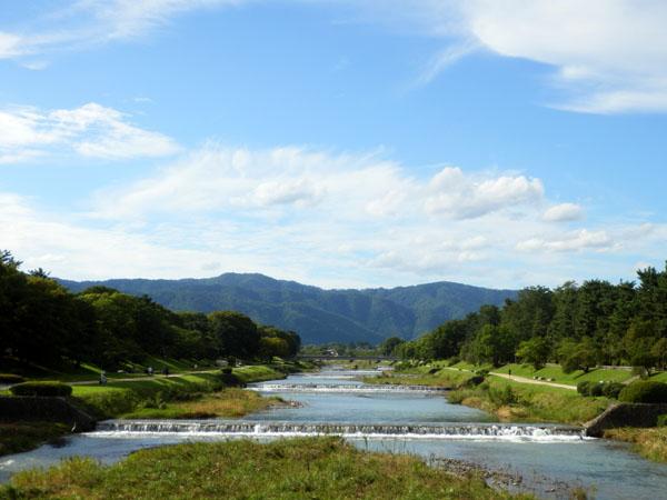 夏の終わり 鴨川_e0048413_2314686.jpg