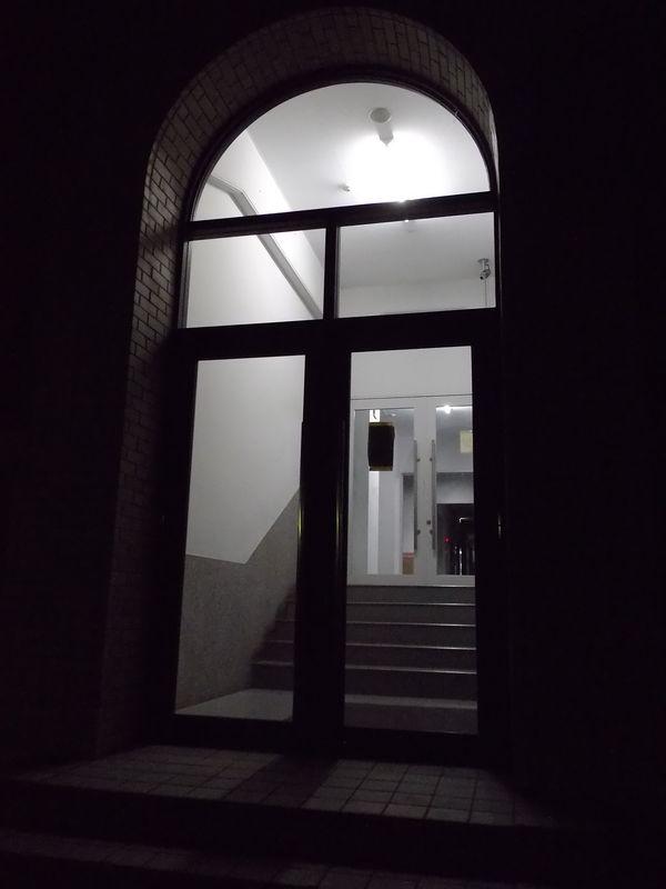 夜の帰り道:北大構内_c0025115_2254150.jpg
